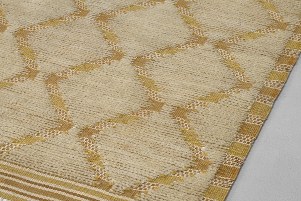 """Yellow Paths"" Rug"