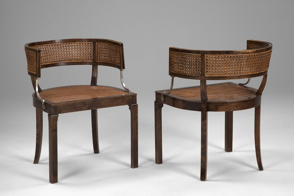Five Neoclassical Chairs