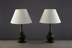 Pair of 'Disko' Table Lamps