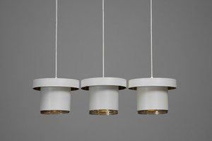 Three Ceiling Lamps