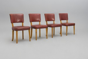 Set of Four Unique Dining Chairs