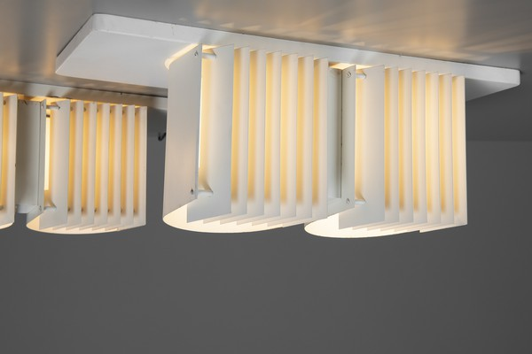 Pair of Ceiling Lamps Model no. AE 7055