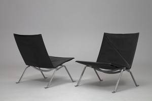 Pair of Easy Chairs PK22