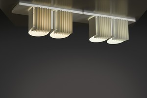 Pair of Ceiling Lights, Model no. AE-7055