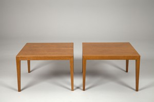 Pair of Oak Tables