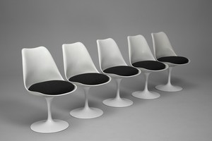 Five Tulip Chairs