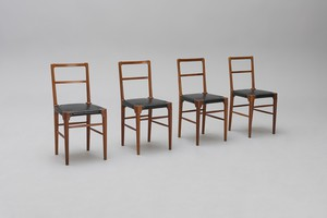 Set of Four Chairs from Stockholm Stadsbiblioteket