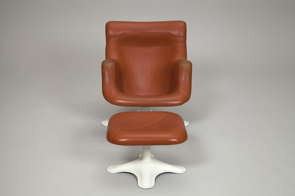 """Karuselli"" Easy Chair with Ottoman"