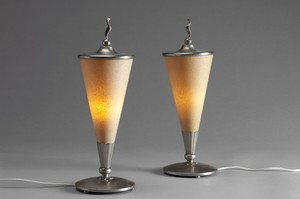 Pair of  Böhlmarks lamps