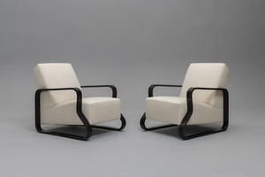 Pair of Armchairs, Model no. 44