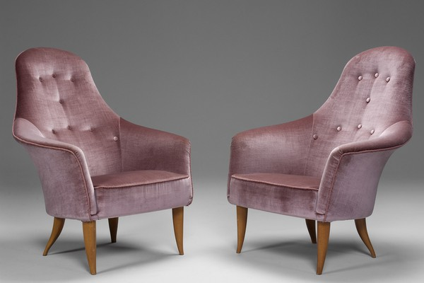 "Pair of ""large Adam"" Chairs"