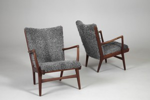 Pair of Armchairs, Model no. 'AP-16'