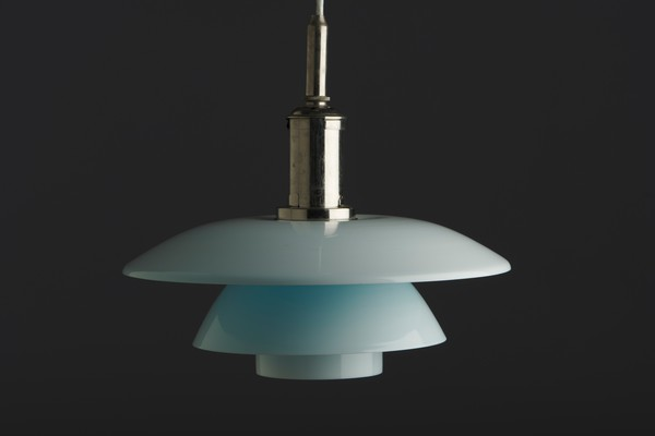 Rare Ceiling Light with Daylight PH 4 shades.