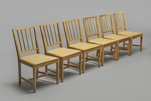 Set of Six Chairs, Model no. 800