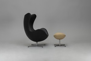 Egg Chair With Ottoman