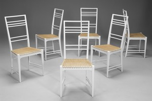"Set of Six ""Poem"" Chairs"