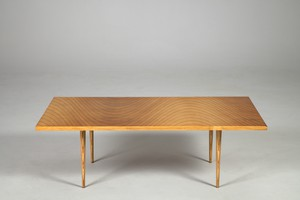 'Rhythmic Veneer' Table