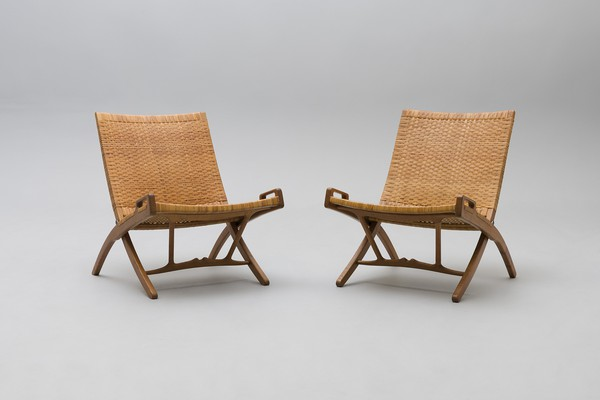 Lounge Chairs, Model no. JH-512