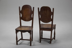 attributed Carl Malmsten Pair of chairs