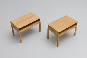 Pair of Side or Bedside Tables