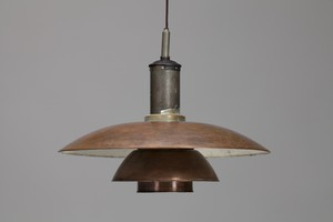 PH 6/5 Copper Ceiling Lamp