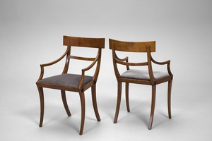 Pair of Neoclassical Chairs
