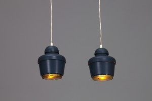 Pair of Ceiling Lamps No. A330