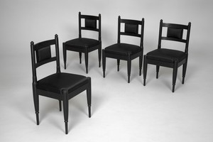 Four Neoclassical Chairs