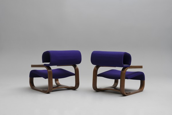 Pair of Armchairs Designed For the Czech Embassy, Stockholm