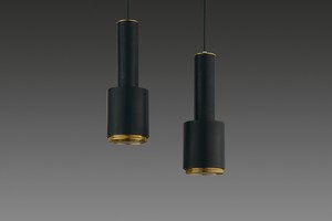 Pair of 'Hand Grenade' Ceiling Lamps, Model no. A110