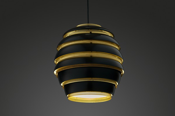 "Large ""Beehive"" Ceiling Lamp, Model no. A 332"