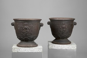 Pair of Näfveqvarns Urns