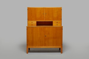 Unique Two Part Modernist Cabinet