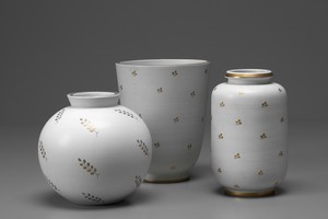 Group of 'Carrara' Vases
