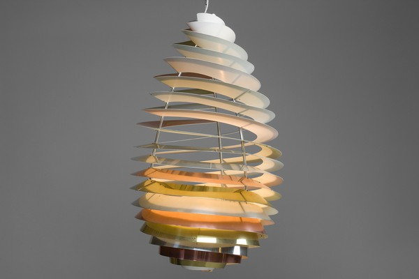 """Spiral"" Ceiling Lamp"