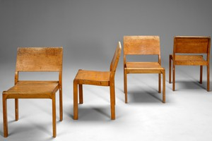 Four Stacking Chairs No. 611
