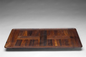 Palisander Footed Tray