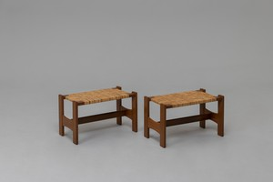 Pair of Stools, Model no. 2242