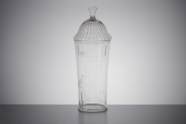 'Spaniard' Vase with Cover