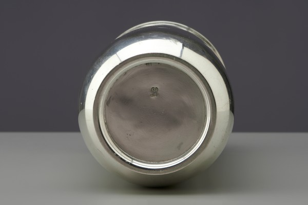 Silver Cocktail Shaker