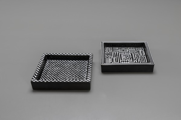 "Group of ""Domino"" Ashtrays"