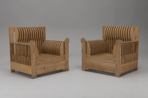 Pair of 'Mobili Nella Valle (Furniture of the Valley)' Lounge Chairs