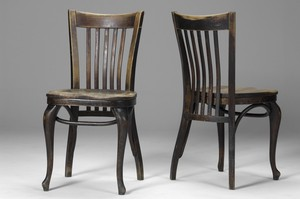 "Pair of ""Cafe Capua"" Chairs"