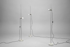 Three Adjustable Floor Lamps