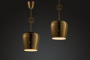 Pair of Ceiling Lamps, Model no. 10104