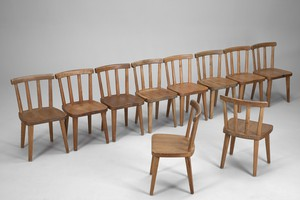 "Set of Ten ""Utö"" Chairs"
