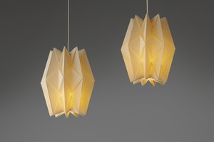 Pair of Ceiling Lamps, Model no. 152