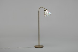 Adjustable 'Spiral' Floor Lamp, Model No. 1838