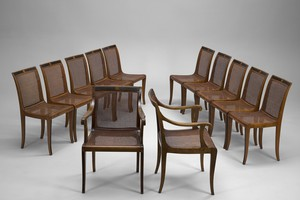 Set of Sixteen Chairs