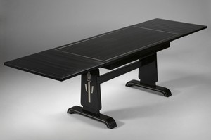Ebonized Dining Table